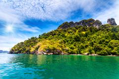 Beautiful ocean landscape Stock Photos