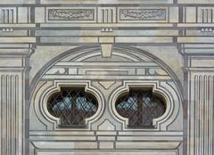 Emperor Courtyard Detail in Munich - stock photo