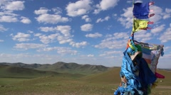 Mongolian Shamanism Stock Footage