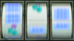 Slots Machine Vj Loops Casino Animation Background - stock footage