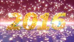 New Year 2016 Animation Arkistovideo