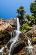 Grizzly Falls, Sequoia National Forest, California, USA Stock Photos