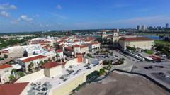 Gulfstream Casino aerial video 2 Stock Footage