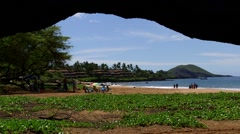 Po'olenalena Beach on Maui, Hawaii - stock footage