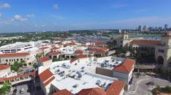 Gulfstream Casino aerial video 3 Stock Footage