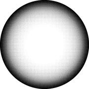 Circle icon in graphical black and white diamond gradient Piirros