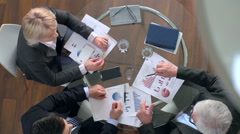 Successful Negotiations Stock Footage