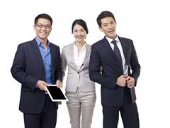 Asian business team Stock Photos
