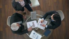 Joining a Meeting - stock footage
