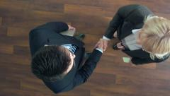 First Business Meeting Stock Footage