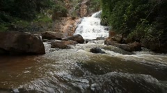 Waterfall in Vietnam, Dalat Stock Footage