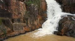 Waterfall in Vietnam, Dalat Stock Footage
