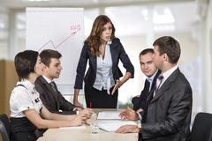 Brainstorming business team Kuvituskuvat