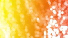 Golden Bokeh Lights Background Stock Footage