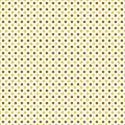 Brown, Yellow and White Polka Dot Abstract Design Tile Pattern Repeat Backgro - stock illustration