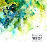 Vector corporate identity template - stock illustration