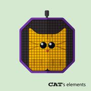 Stock Illustration of Tabby cat in pet carrier