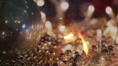 Christmas celebration montage Stock Footage