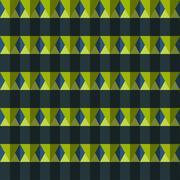 Vector color rhombus seamless pattern - stock illustration