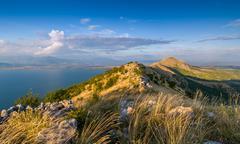 Skadar lake national park - stock photo