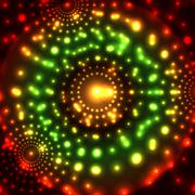 Vector glowing micro cosmos background. Eps10 - stock illustration