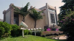 Yunnan Nationalities Museum Located Near Dianchi Lake Kunming China Stock Footage