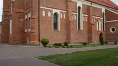 Katedra in Lomza, Poland Stock Footage