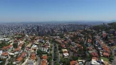Aerial View of Mangabeiras in Belo Horizonte, Minas Gerais, Brazil Stock Footage