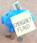 Emergency Fund - stock photo