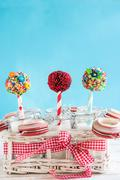Stock Photo of Cakes Pops time