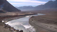 Landscape of Ladakh, India - stock footage