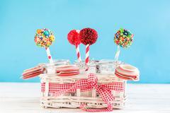 Cakes Pops Stock Photos