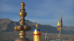 Landscape of Ladakh, India Stock Footage