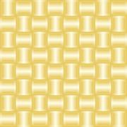 Abstract background with golden squares silk effect - stock illustration