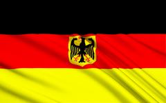Flag of Germany Stock Illustration