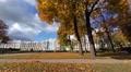Catherine Palace. Pushkin. Catherine Park. Tsarskoye Selo. 4K. Footage