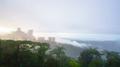 Timelapse at genting highland. Stock Footage