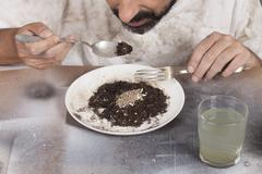 Poor food Stock Photos