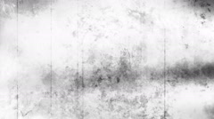 Black and white grunge texture six Stock Footage