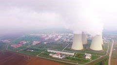 Nuclear power plant. Stock Footage