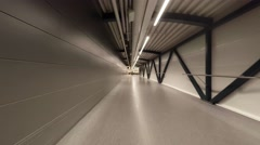 Passage on foot through the airport terminal. Shot in 4K (ultra-high definition Stock Footage