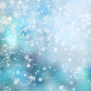 Abstract blur winter background Stock Illustration