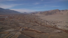 Panorama of Leh Valley Stock Footage
