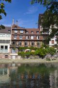View of Strasbourg, Bas-Rhin, Alsace, France Stock Photos