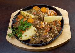 Armenian  lamb stew - stock photo