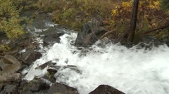 Power-plant waterfall Stock Footage