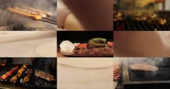 Turkish Food Montage 4K Stock Footage