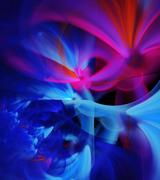Abstract fractal background for creative design Stock Illustration