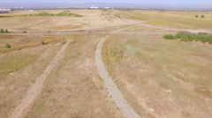 Stock Video Footage of Aerial view of open space in Colorado.