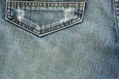 denim design of fashion jeans textile background - stock photo